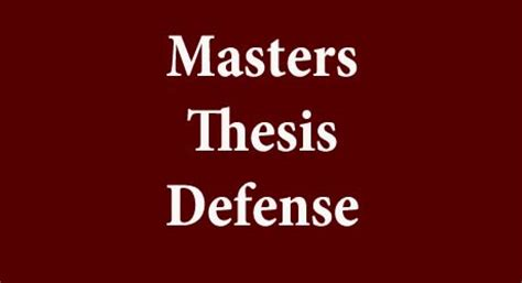 Writing masters dissertation proposal